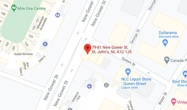 Google Map | The Newfoundland Embassy